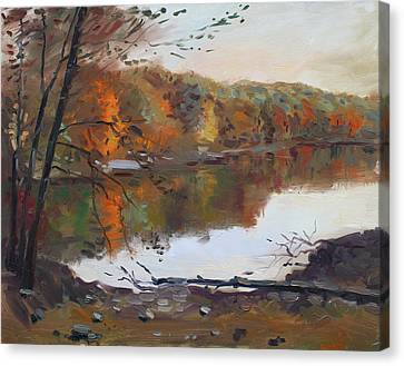 Fall In 7 Lakes Canvas Print by Ylli Haruni