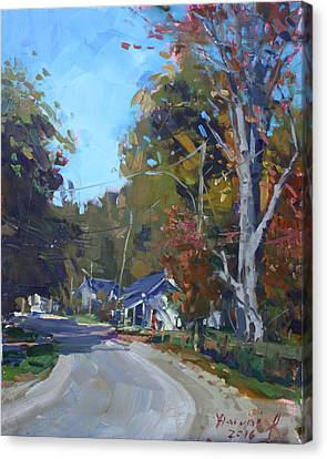 Fall In Glen Williams On Canvas Print by Ylli Haruni