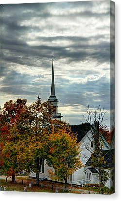 Fall In Lamoine Canvas Print
