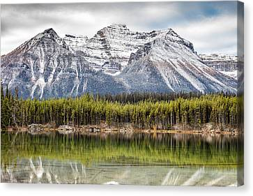 Canvas Print featuring the photograph Fall In The Canadian Rockies by Pierre Leclerc Photography
