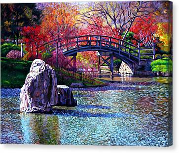 Fall In The Garden Canvas Print