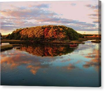 Fall In Wellfleet Canvas Print