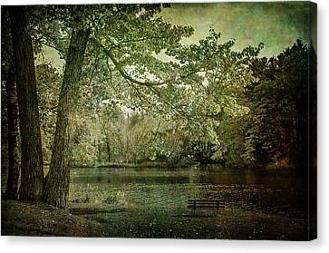 Fall In Wisconsin Rapids Canvas Print by Susan McMenamin