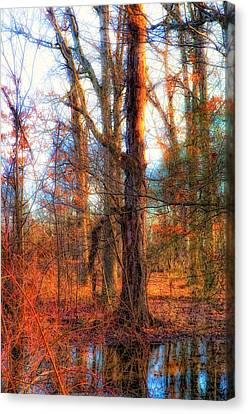 Fall Is Calling Canvas Print by Michael Putnam
