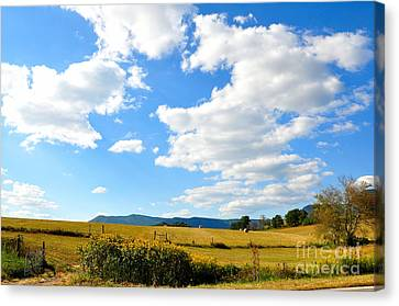 Fall Is On The Way Canvas Print by Todd Hostetter