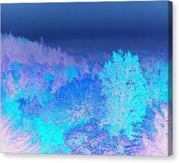 Fall Landscape, New Hampshire, Usa Canvas Print by Stockbyte