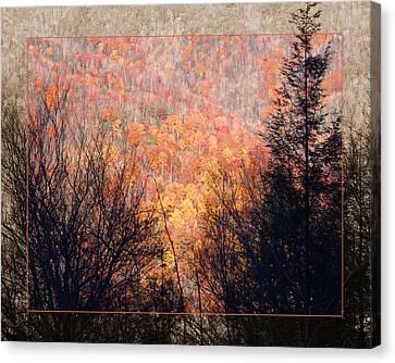 Fall Mountain Canvas Print