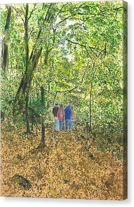 Fall Nymphs - IIi Canvas Print