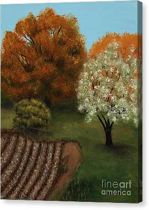 Fall Rendezvous Canvas Print