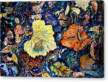 Fall Review Canvas Print by Norma Boeckler