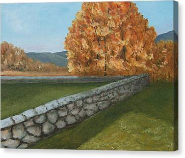 Fall Wall Canvas Print