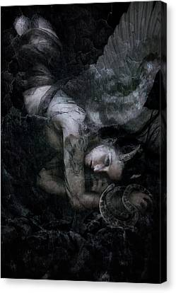 Fallen Canvas Print by Cambion Art