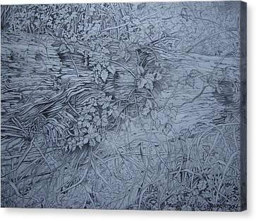 Fallen Giant  Canvas Print