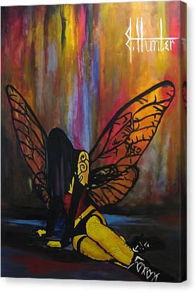 Fallen Canvas Print by Jeff Hunter