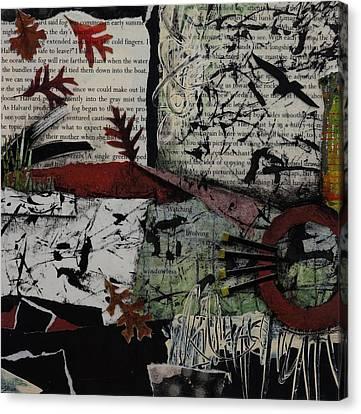 Rust Canvas Print - Fallen Oak by Laura Lein-Svencner