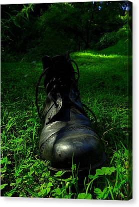 Fallen Soldier Canvas Print