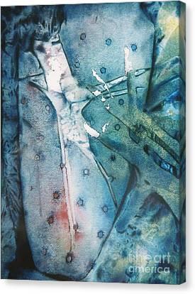 Falling Apart Canvas Print by Shirley McMahon