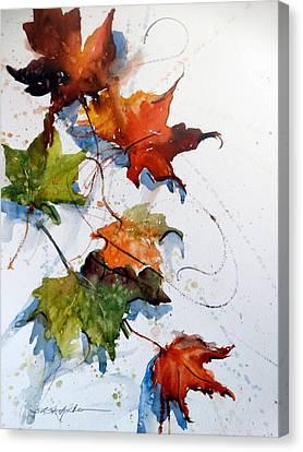 Falling Down    Canvas Print