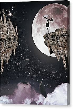 Falling Canvas Print by Mihaela Pater