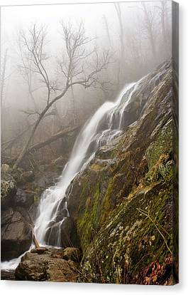Canvas Print featuring the photograph Falling Mist by Alan Raasch