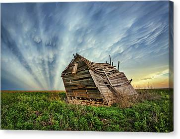 Falling Rays Canvas Print by Thomas Zimmerman