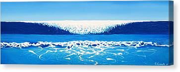 Falling Sea Canvas Print by Jaison Cianelli
