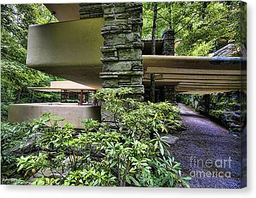 Falling Water Flw Canvas Print