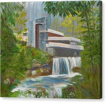 Falling Water Canvas Print by Jamie Frier