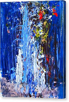 Falling Water Canvas Print by Penfield Hondros