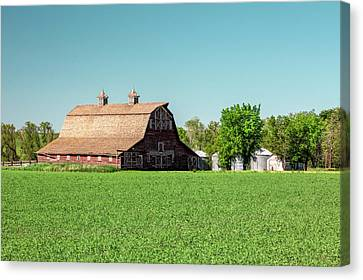 Fallon County Farm Canvas Print by Todd Klassy