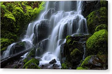 Falls Canvas Print by Chad Dutson