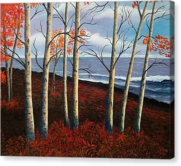 Fall's Charm Canvas Print