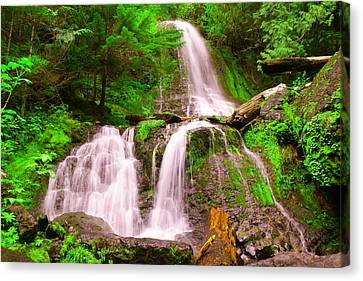 Falls Creek  Canvas Print by Jeff Swan