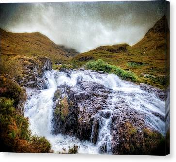 Falls Of Glencoe Canvas Print