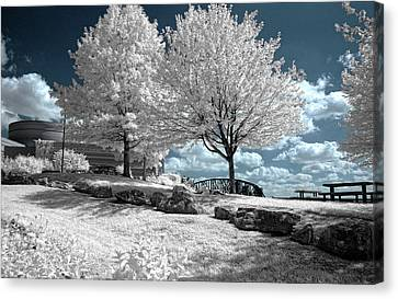 Falls Of The Ohio State Park Canvas Print