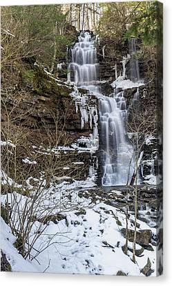 Falls Canvas Print by Rhys Templar