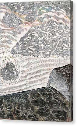 Falls View Canvas Print by Al Goldfarb