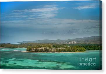 Falmouth Jamaica Canvas Print
