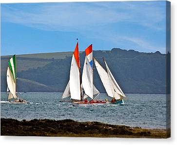 Falmouth Reggatta  Canvas Print by Brian Roscorla