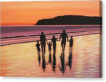 Families Are Forever Canvas Print