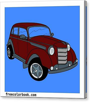 Families Vacation  Drive  Canvas Print by Brenda Knight