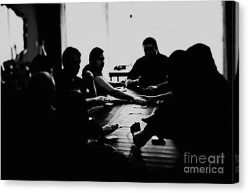 Family And Friends  Canvas Print by Frank J Casella