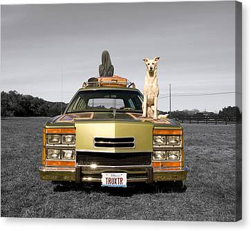 Family Queen Truckster Canvas Print by Jimmy Bruch