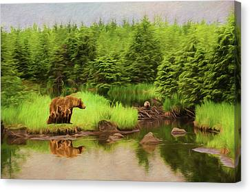 Family Time Canvas Print