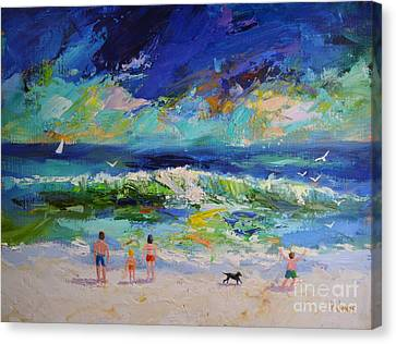 The Ocean Storm Canvas Print by Philip Jones