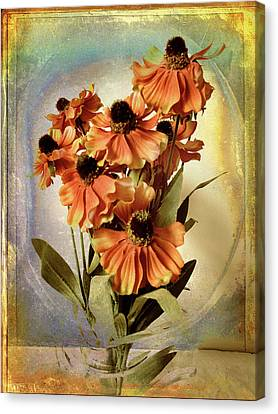 Fanciful Floral Canvas Print by Jessica Jenney