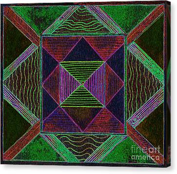 Appleton Canvas Print - Fanciful Sensation by Norma Appleton