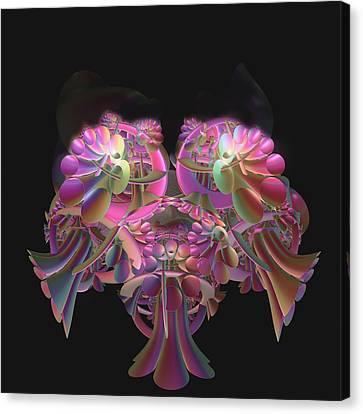 Fancy Bouquet Canvas Print by Julie Grace