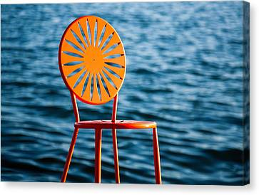 Union Terrace Canvas Print - Fancy Chair by Todd Klassy