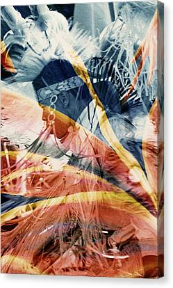 Fancy Dancer Canvas Print by Paul Shefferly
